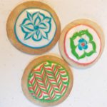 Cookies frosted with Royal Icing